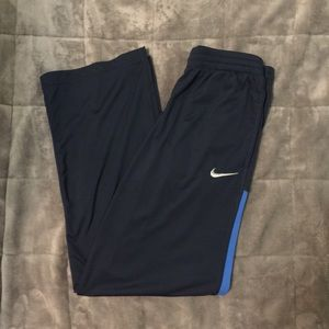 Dark blue Nike Track pants